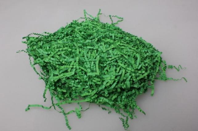 Наполнитель волна бумажный Зеленый 50гр/уп.