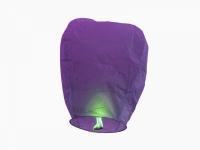 Небесный китайский фонарик - Бриллиант (фиолетовый) 98х55х35см