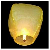 Небесный китайский фонарик - Бриллиант (жёлтый) 98х55х35см