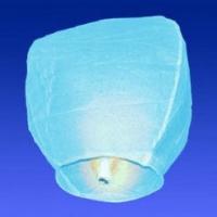 Небесный китайский фонарик - Бриллиант (голубой) 98х55х35см