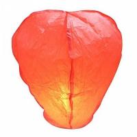 Небесный китайский фонарик - Бриллиант (красный) 98х55х35см