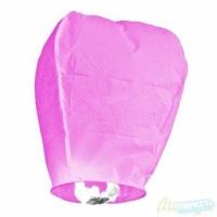 Небесный китайский фонарик - Бриллиант (розовый) 98х55х35см