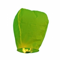 Небесный китайский фонарик - Бриллиант (зелёный) 98х55х35см