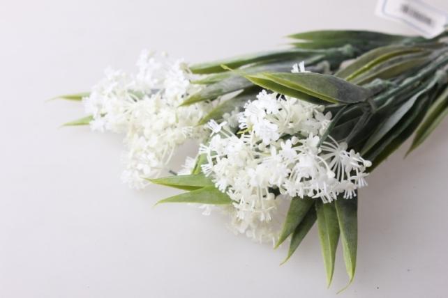 незабудка белая букет - цветы искусственные