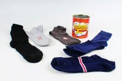 Носки без дырок в металлической банке (набор 5 пар)