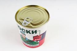 """Носки """"Для защитника родины"""" в металлической банке (набор 5 пар)"""