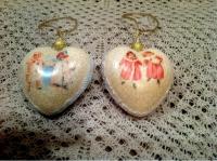 """Новогоднее украшение """"Снежный ангел"""""""