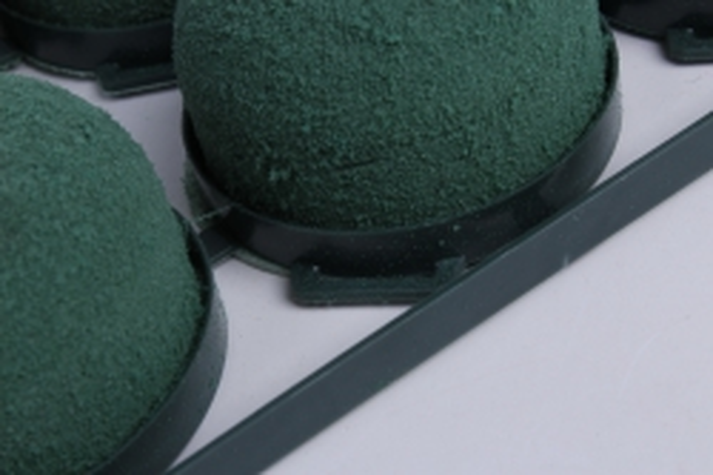 oasis мини деко ideal на пластиковой основе  с липучкой   3,5 5 cm (в уп. 12 шт.)