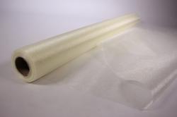 Органза-снег в рулоне 70см*10м Кремовый №03 (МН)
