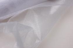 органза-снег в рулоне 70см х 10м  белая 2015