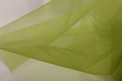 органза однотонная органза-снег в рулоне 70см*10м салатовый 4014