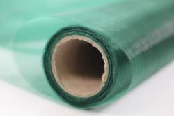 декоративная сетка 1017 органза  в рулоне 70см*9м темно-зеленый