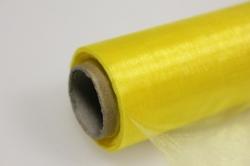 Органза в рулоне (70см х 10м) Желтый 071