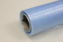 органза в рулоне (70см х 10м) небесно-голубой 033