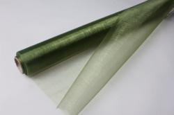 органза в рулоне (70см х 10м) оливковый 094