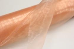 органза в рулоне (70см х 10м) персиковый 018