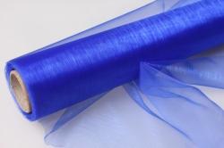 органза в рулоне (70см х 10м) синий 043