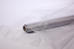Органза  в рулоне 70см х 9м Серебро 1018