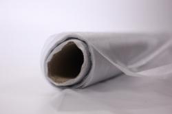 декоративная сетка 1018 органза  в рулоне 70см*9м серебро