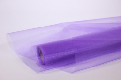 декоративная сетка 1035 органза  в рулоне 70см*9м сиреневый