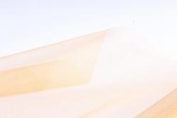 Органза-снег  в рулоне 70см*9м  Золото