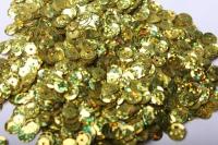 Пайетки золото голография 17гр.