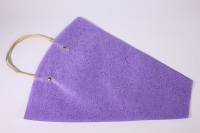 Пакет для цветов с ручками (фетр), 40х12х45см (в уп. 10шт.), фиолетовый
