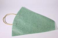 Пакет для цветов с ручками (фетр), 40х12х45см (в уп. 10шт.), зеленый