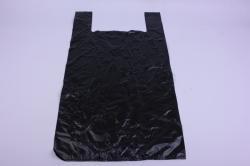 Пакет майка черная 43*70см