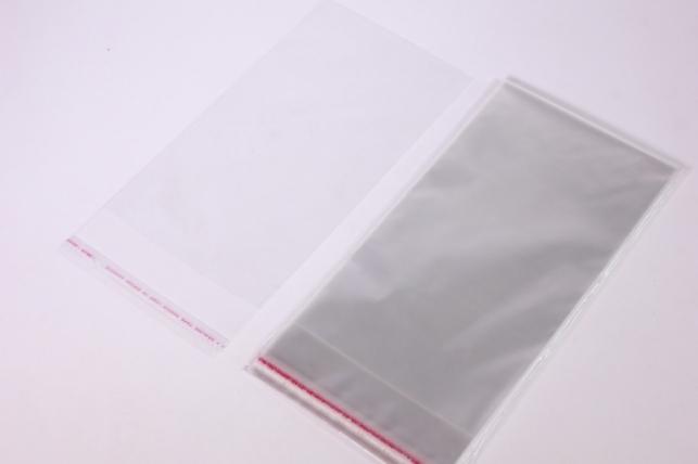 пакет прозрачный со скотчем 18х23см (50 шт в уп)
