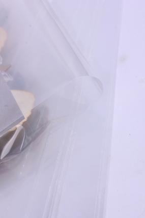 пакет прозрачный со скотчем 19х35см (50 шт в уп)