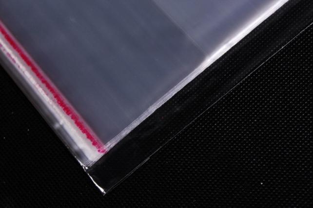 Пакет прозрачный со скотчем 17х26см (50 шт в уп)