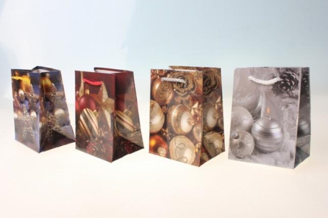 Пакеты новогодние 8х11 (20 шт/уп) рисунки в ассортименте