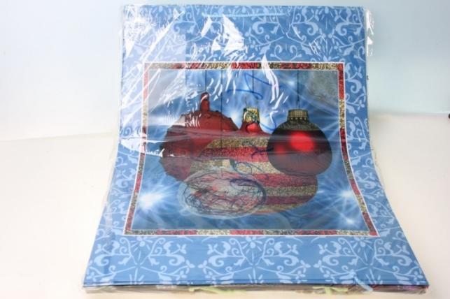 Пакеты новогодние ламинированные  42х60 (12 шт/уп) рисунки в ассортименте