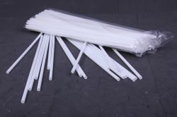 Палочка белая димаетр 5мм, длина 370 мм, 3000041-H