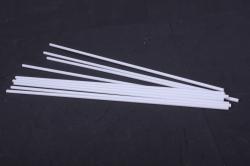 Палочка белая димаетр 6мм, длина 420 мм, 3000180