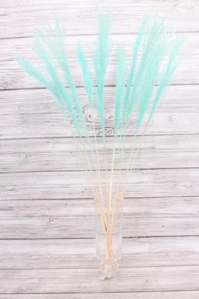 Пампасная трава (10шт), голубой 8520Н