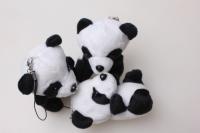 Панда (игрушка мягкая) (3шт в уп) 100805