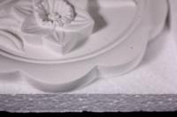 панно из гипса нарциссы (д=13см) 04-п