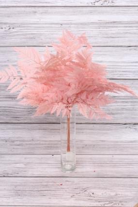 Папоротник (10шт), розовый 8247Н