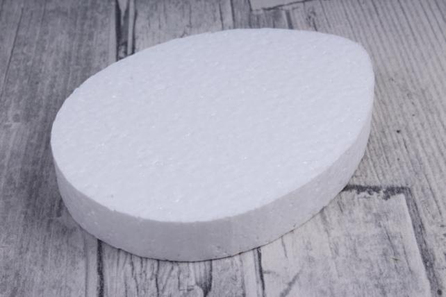 пасхальное яйцо боьшое пенопласт  h10см d1,5см (6шт в упаковке), ян-03