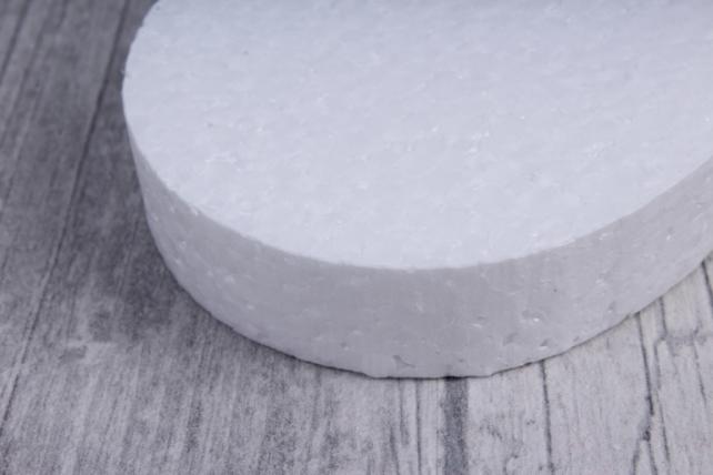 пасхальное яйцо малое пенопласт  h8см d1,5см (10шт в упаковке), ян-02