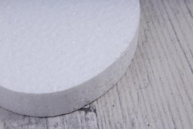 пасхальный набор яйцо  пенопласт, ян-01 6x7,5 h=1,5cm