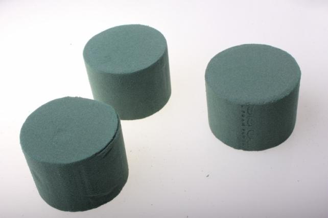 Пена флористическая Цилиндр 8-6см для живых цв. Идеал