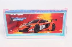 Пенал разноцветный Машина оранжевая 1шт 22x10см