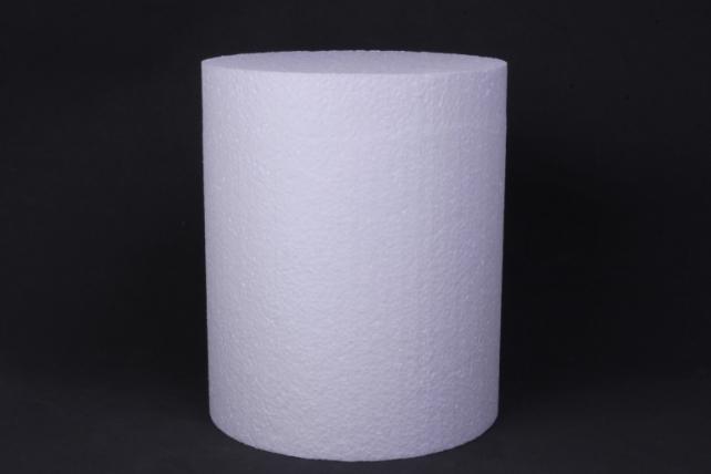 пенопласт цилиндр    d=15, h=18см   (1шт в уп)  арт. ц-09