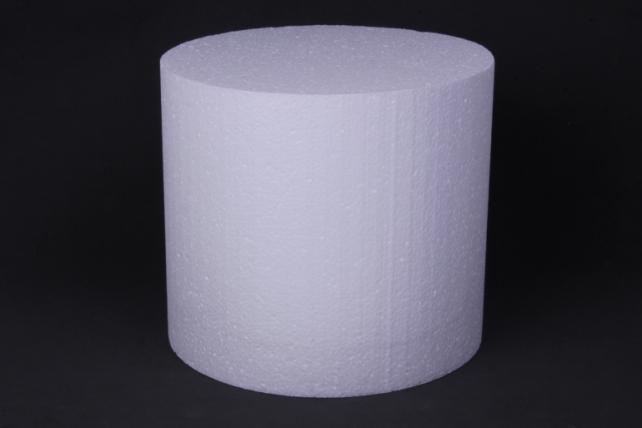 Пенопласт Цилиндр    d=20, h=18см   (1шт в уп)  Арт. Ц-10