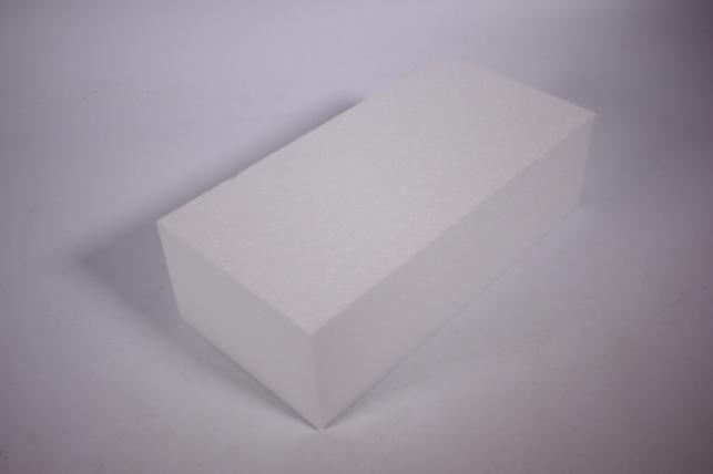 Пенопластовая форма - Кирпич из пенопласта 23*11*7см (1шт)