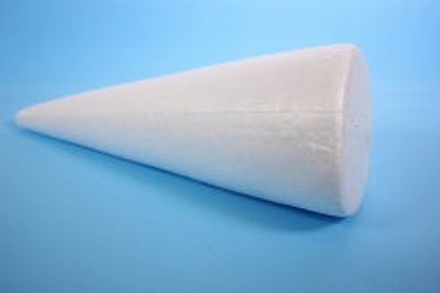 Пенопластовая форма - Конус h=30см (1шт )