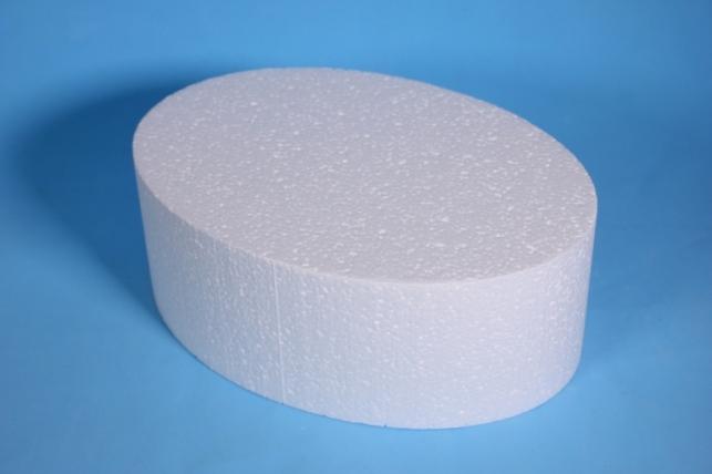 Пенопластовая форма - Овал 23*16*9см (Код 08-Ц)